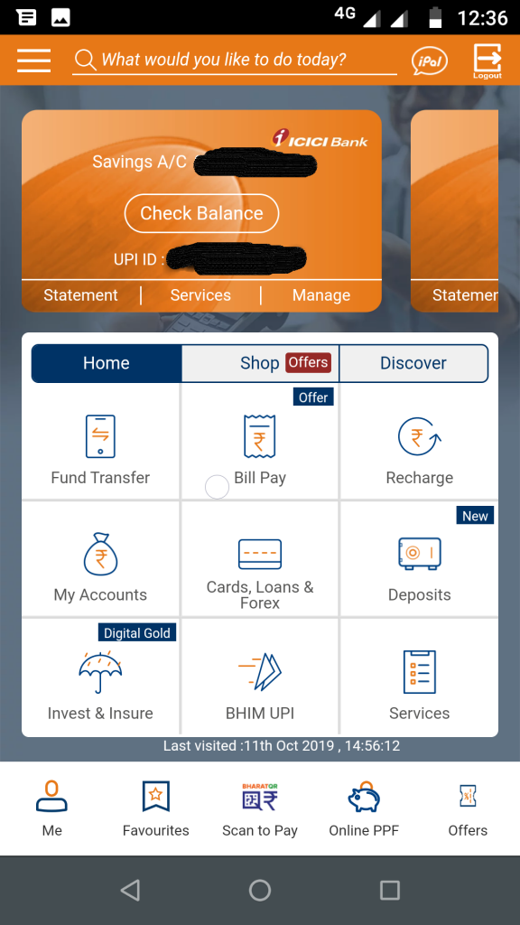 iMobile app features