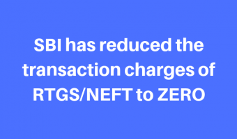 SBI transaction charges reduced