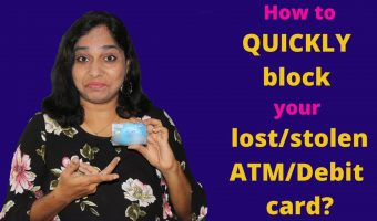 How to block your SBI atm debit card in just a few minutes