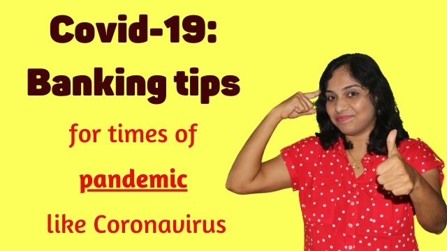 Covid-19: Banking tips for times of pandemic like Coronavirus