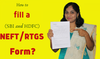How-to-fill-a-SBI-and-HDFC-NEFT-RTGS-Form