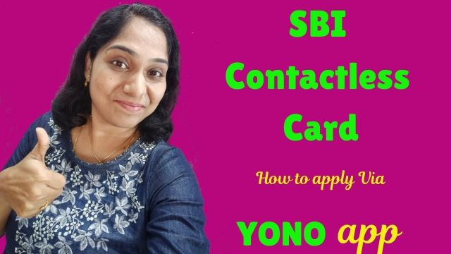 SBI Contactless (Wifi) Card: How to apply via YONO app?
