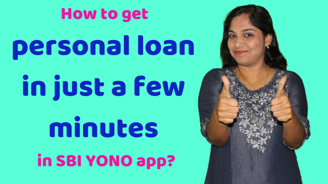 Get personal loan via SBI YONO app in a few minutes (no documents needed!)