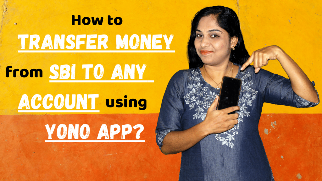 How to transfer money from SBI to ANY account using YONO app?