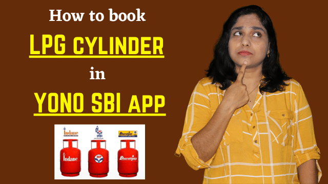 Gas cylinder booking in YONO SBI | How to book LPG cylinder in YONO SBI app