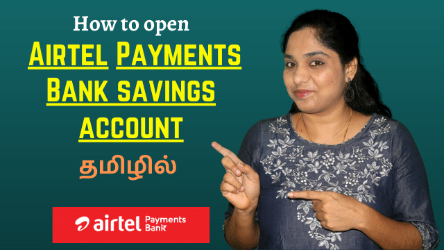 How to open Airtel Payments Bank savings account in Tamil | Airtel Payments Bank account open