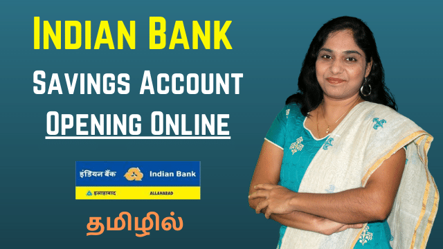Indian Bank Savings Account Opening Online | How to open Indian Bank SB account online without visiting branch