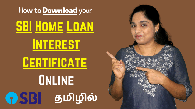 How to download SBI Home Loan Interest Certificate online