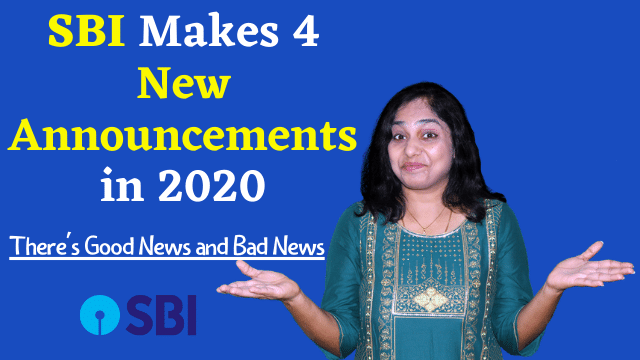 SBI Makes New Announcements in 2020 - SBI Minimum balance rule 2020