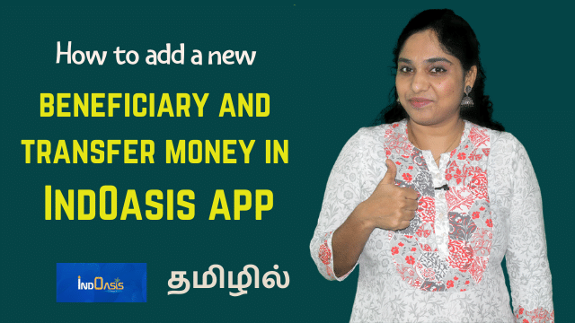 How to add new beneficiary in Indian Bank IndOasis App and transfer money