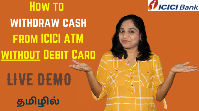 ICICI Cardless Cash Withdrawal