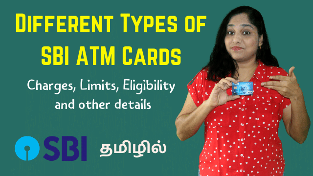 Different Types of SBI ATM Cards