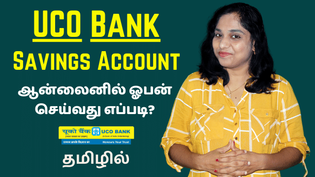 UCO Bank Savings Account Opening Online Demo