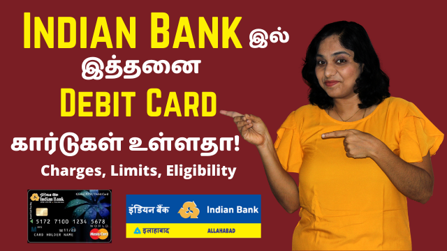 Indian Bank Debit Card Types