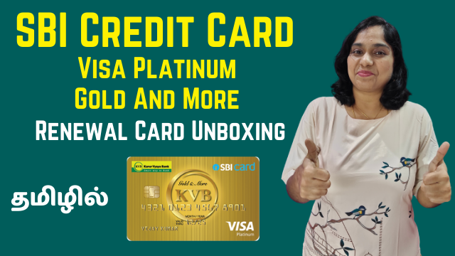 SBI Card Visa Platinum Credit Card (Gold And More Renewal Card) Unboxing - How To Activate And Use PIN