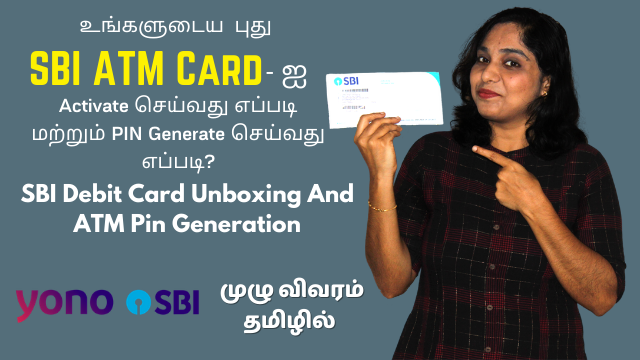 How To Activate SBI ATM Card And Generate PIN? SBI Debit Card Unboxing And ATM Pin Generation