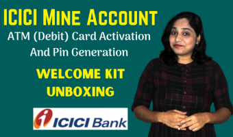 ICICI-Mine-Account-ATM-Card-Activation