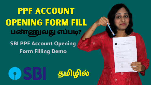 SBI-PPF-Account-Opening-Form-Filling