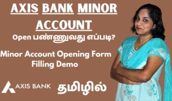 Axis Bank Savings Or Minor Account